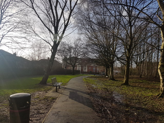 Path in Oakwood Park