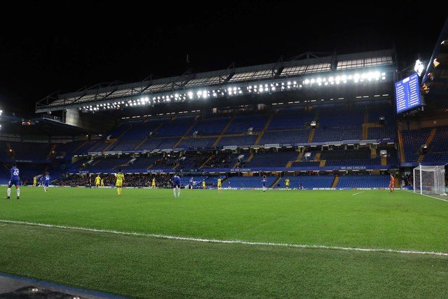 The East Stand at Stamford Bridge