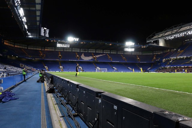 The Matthew Harding Stand at Stamford Bridge