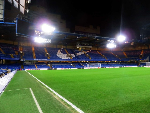 The Shed Stand at Stamford Bridge