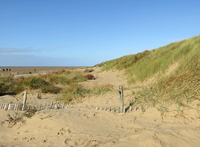 The dunes at St Annes