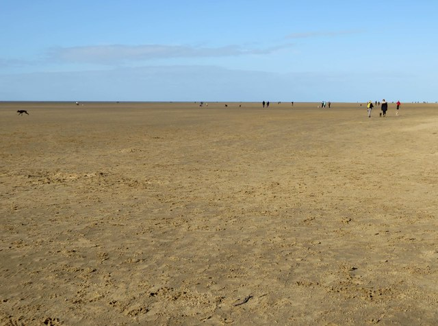 The beach at St Annes