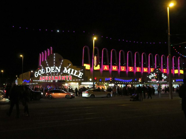 The Golden Mile on the Promenade