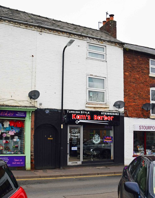 Kam's Barber, 17 Lombard Street, Stourport-on-Severn