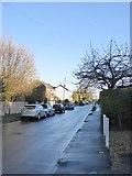 TQ2057 : Langley Vale: Rosebery Road after rain (2) by Stefan Czapski