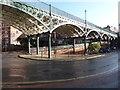 SX9192 : The Iron Bridge, Exeter by Chris Allen