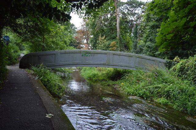 Footbridge , River Wandle