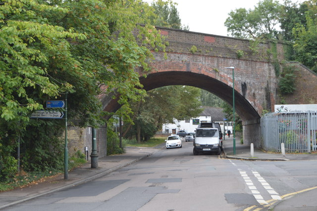 Railway Bridge, Mill Lane