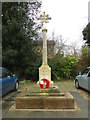 TG2408 : The Great War Memorial at St. Matthew's church by Adrian S Pye