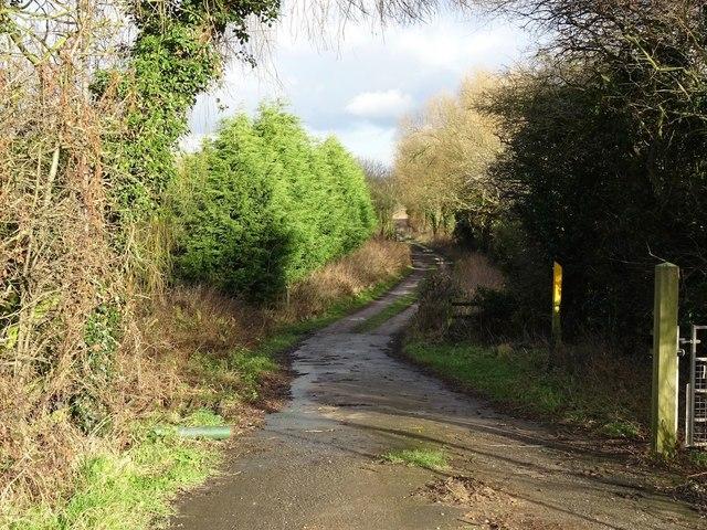 Track to Woodthorpe Bridge