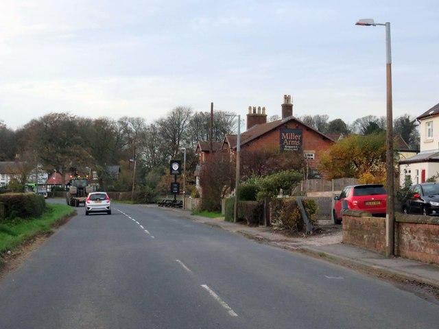 Weeton Road in Singleton