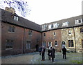 TQ3181 : Wash House Court, The Charterhouse by PAUL FARMER