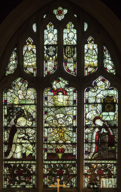 St Mary, Myton on Swale - Stained glass window