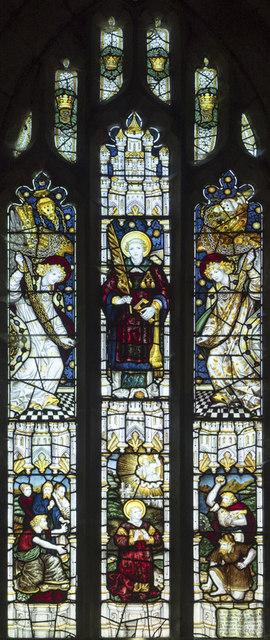St Stephen, Aldwark - Stained glass window