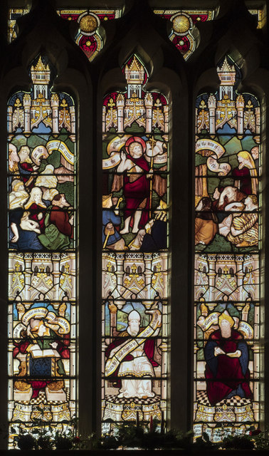 St Mary, Alne - Stained glass window