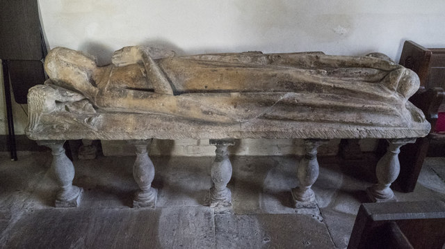 St Mary, Alne - Effigy
