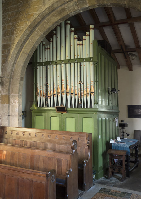 St Mary, Alne - Organ