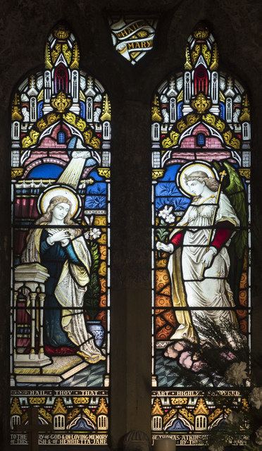St Mary the Virgin, Great Ouseburn - Stained glass window
