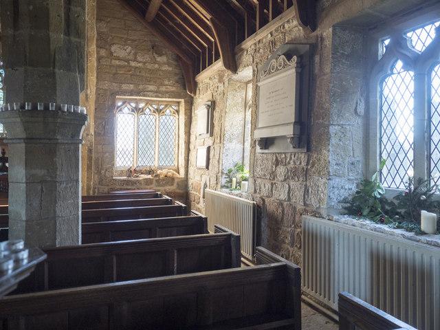 Holy Trinity, Little Ouseburn - South aisle
