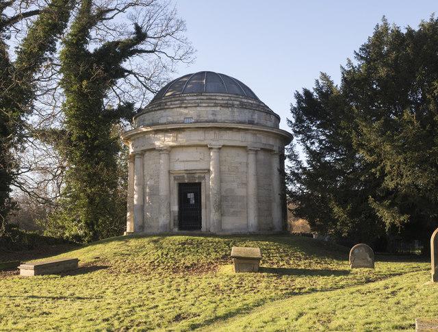 Holy Trinity, Little Ouseburn - Mausoleum