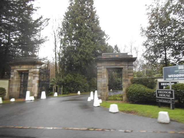The entrance to Hedsor House