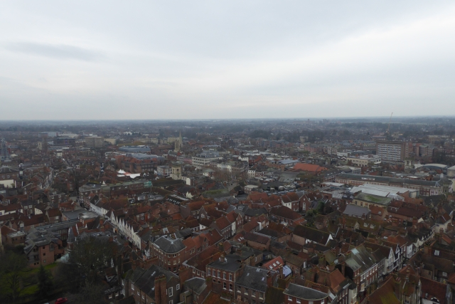 South from York Minster