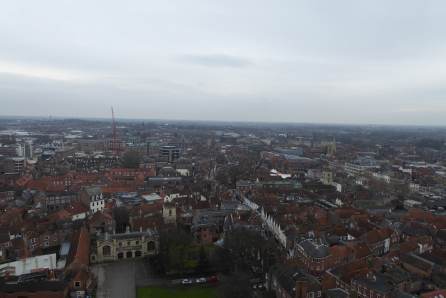 South East from Central Tower