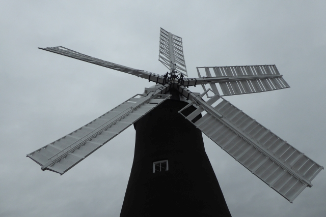 Sails on Holgate Windmill