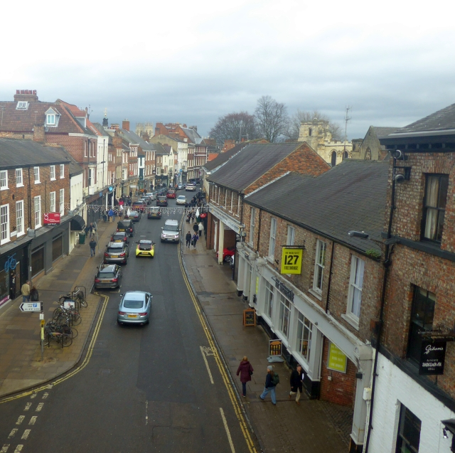 View from Micklegate Bar
