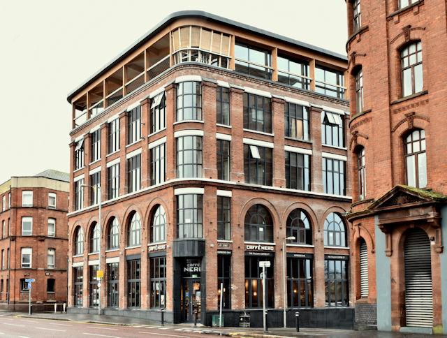 The Weaving Works, Belfast (January 2018)