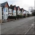 ST1380 : Four gables, Heol Isaf, Radyr, Cardiff by Jaggery