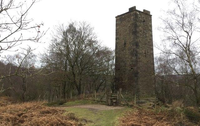 Tower on Stanton Moor