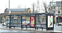 J3674 : Holywood Arches EWAY halt, Belfast - January 2018(1) by Albert Bridge