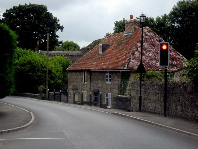 Houses by Main Road Shalfleet