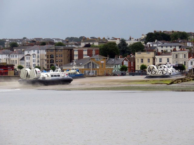 The Hovercraft Terminal in Ryde