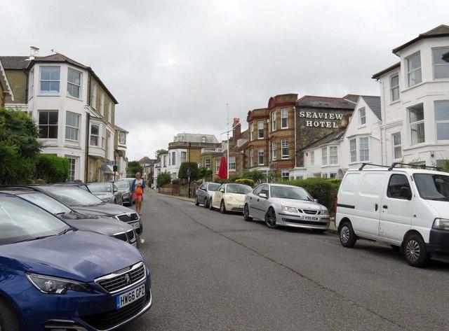 High Street in Seaview