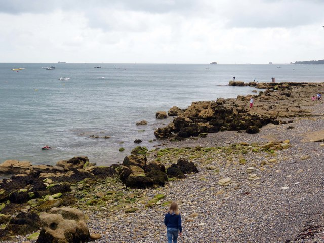 The foreshore by Nettlestone Point