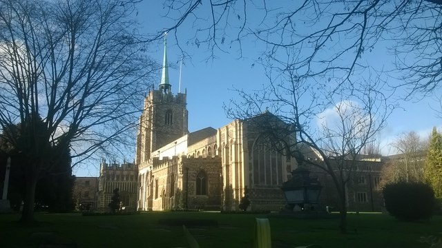 Chelmsford Cathedral, from the east