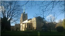 TL7006 : Chelmsford Cathedral, from the east by Christopher Hilton