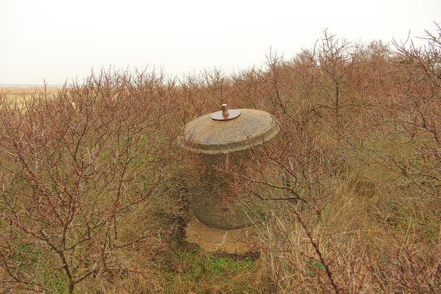 Remains of a Spigot Mortar