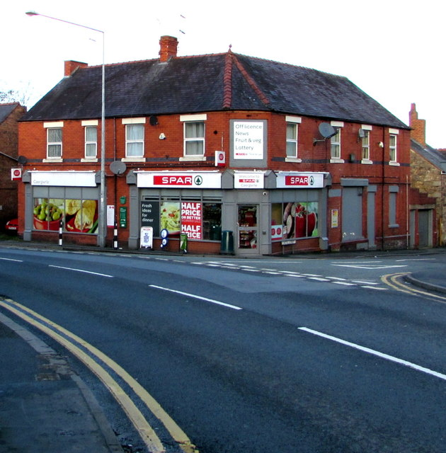 Spar and Post Office, Caergwrle, Flintshire