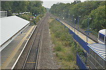 TQ0487 : Chiltern Main line, Denham Station by N Chadwick