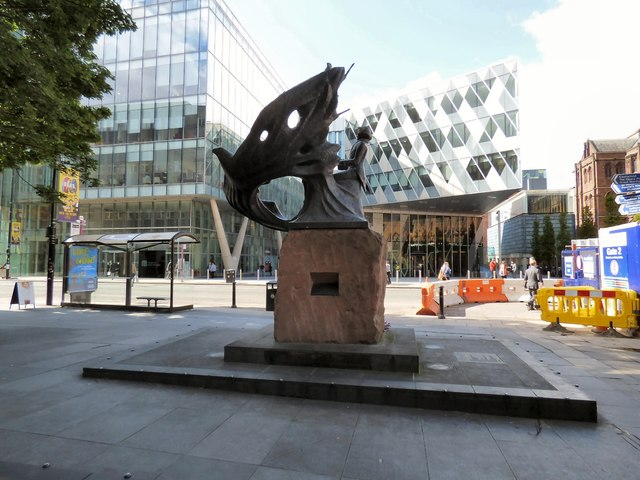 Chopin in Manchester (rear view)