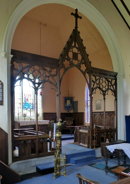 Church of St Mary, Bosley