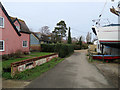 TM2844 : Waldringfield: The Quay by John Sutton