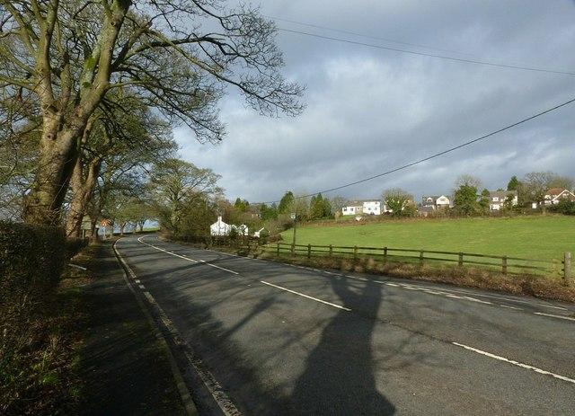 A523 at Bosley Bridge