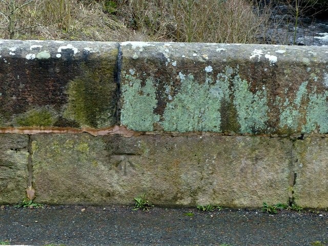 Bench mark, Lymford Bridge