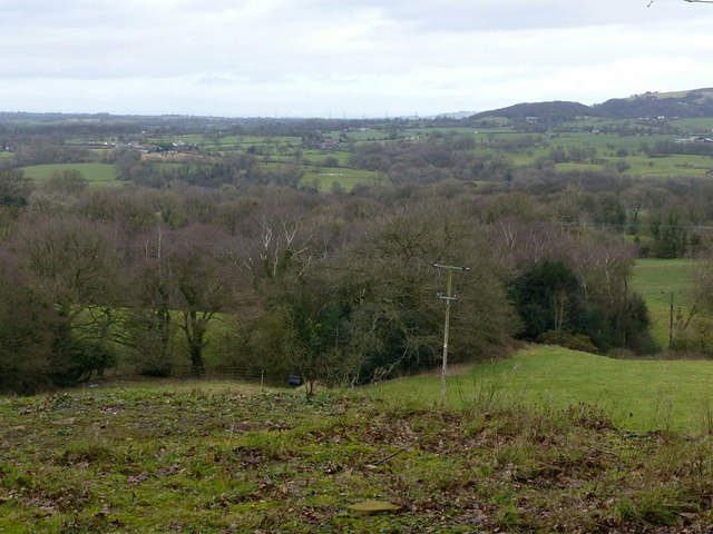 The edge of the Cheshire Plain
