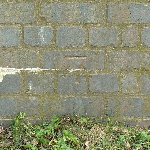 Bench mark, Peover Lane Bridge