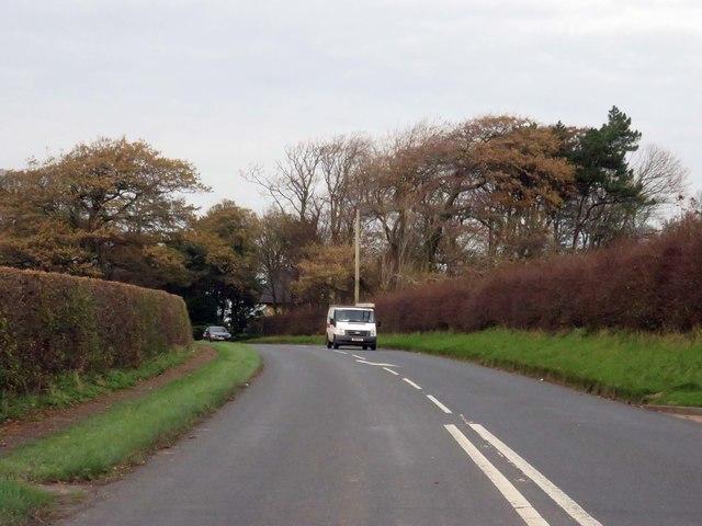 Lodge Lane by Singleton Hall